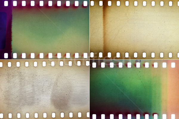 Set of film textures Stock photo © Taigi