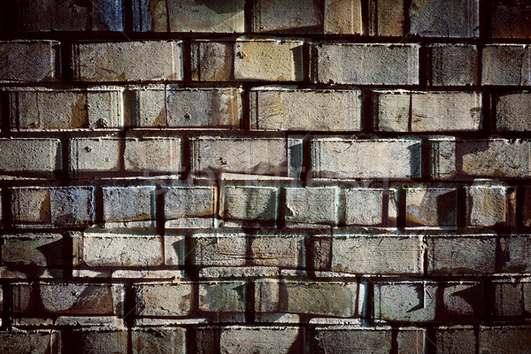 Abstract designed brickwall background Stock photo © Taigi