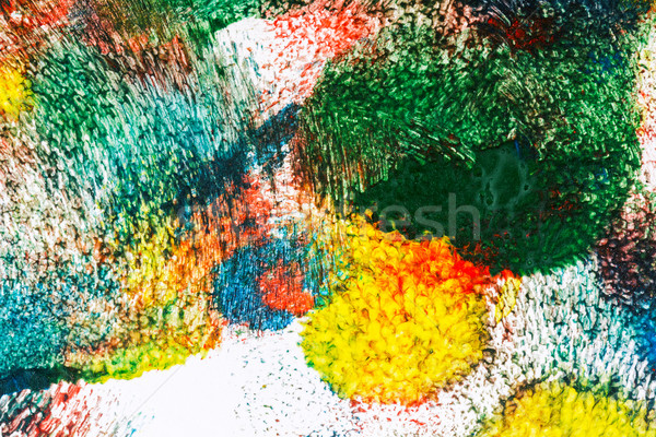 Abstract acrilico arte macro shot luce Foto d'archivio © Taigi