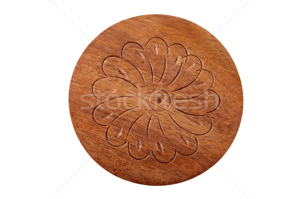 Wood carving of flower Stock photo © Taigi