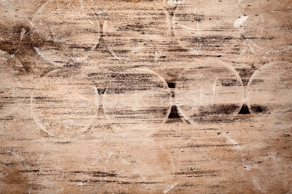 Rot houtstructuur abstract hout ontwerp ruimte Stockfoto © Taigi