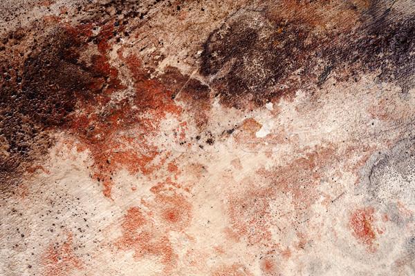Fal dekoráció textúra citromsárga barna piros Stock fotó © Taigi