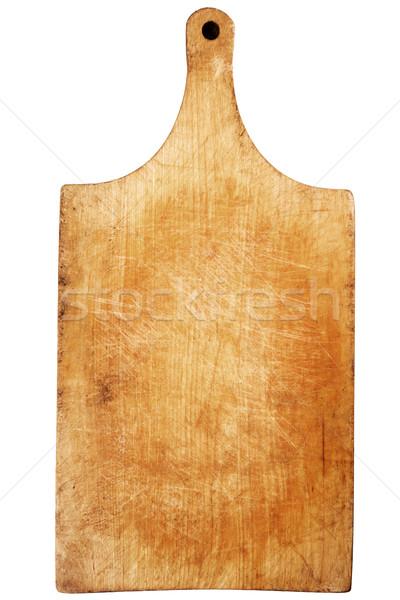 Used wooden chopping board    Stock photo © Taigi