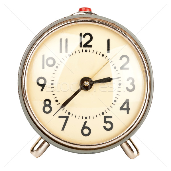 Old alarm clock Stock photo © Taigi