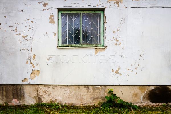 White street wall Stock photo © Taigi
