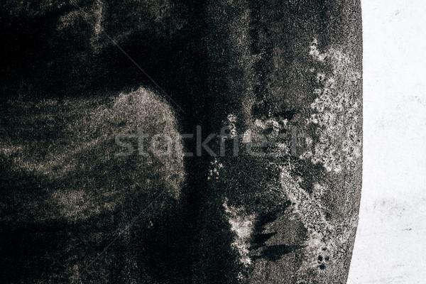 Abstract black watercolor background Stock photo © Taigi