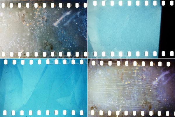 Set of film textures Stock photo © Taigi