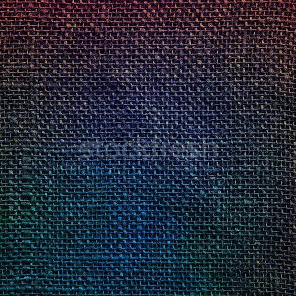 Designed linen fabric background Stock photo © Taigi