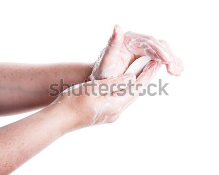 Washing female hands  Stock photo © Taigi
