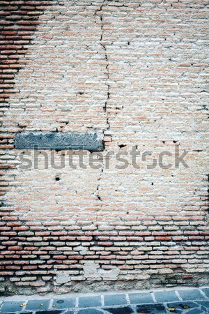 Yellow brick wall  Stock photo © Taigi