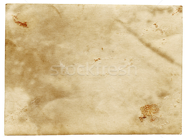 Old stained paper  Stock photo © Taigi