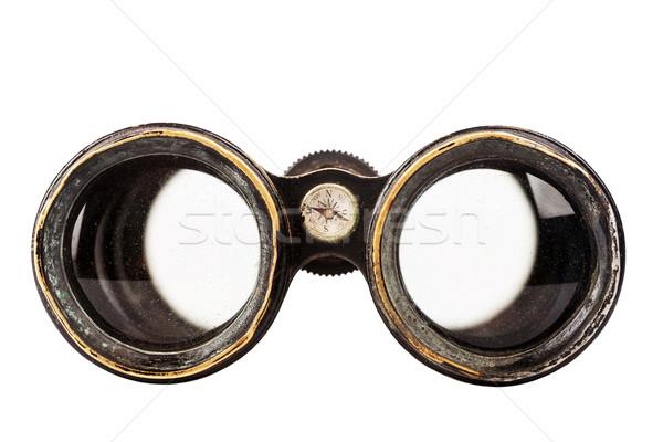 Vintage binoculars Stock photo © Taigi