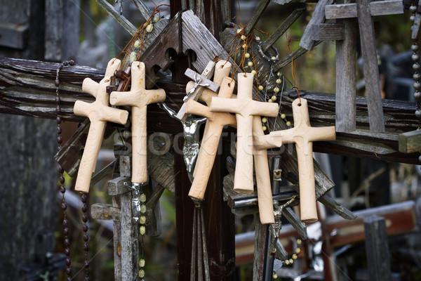 Colina cruzes tiro famoso Foto stock © Taigi