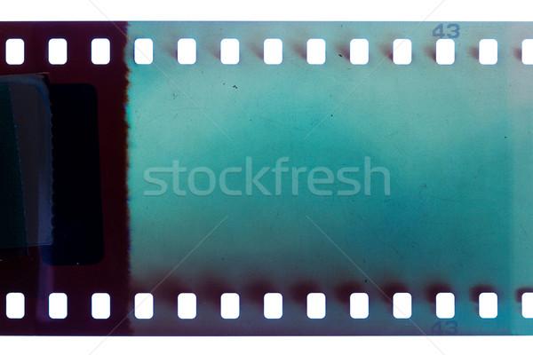 старые Гранж Диафильм синий шумный Сток-фото © Taigi