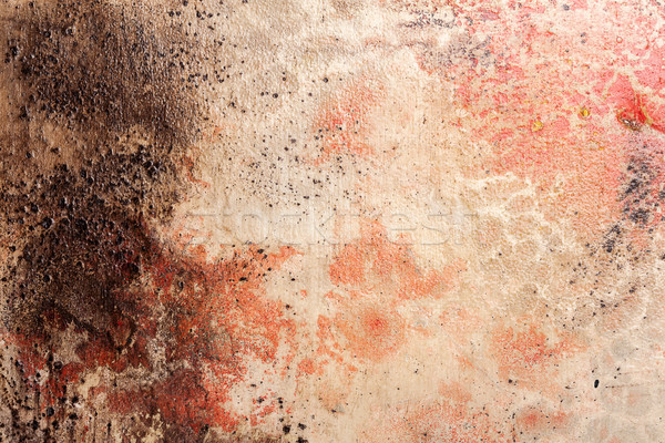 Mur texture jaune brun rouge Photo stock © Taigi