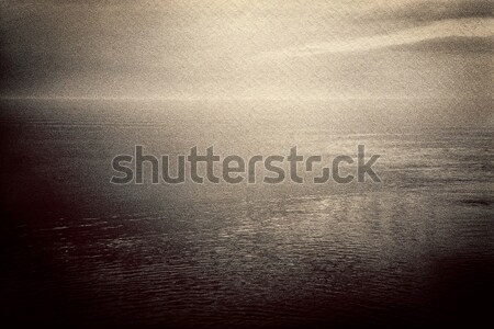 Grunge zee korrelig afbeelding vintage handgemaakt Stockfoto © Taigi