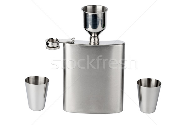 Hip flask with cups Stock photo © Taigi