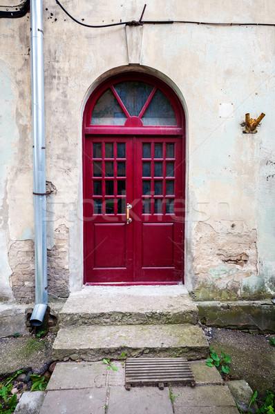 New red door Stock photo © Taigi