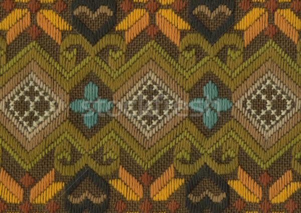 Cotton weave background Stock photo © Taigi