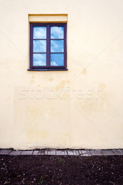 old yellow street wall  Stock photo © Taigi