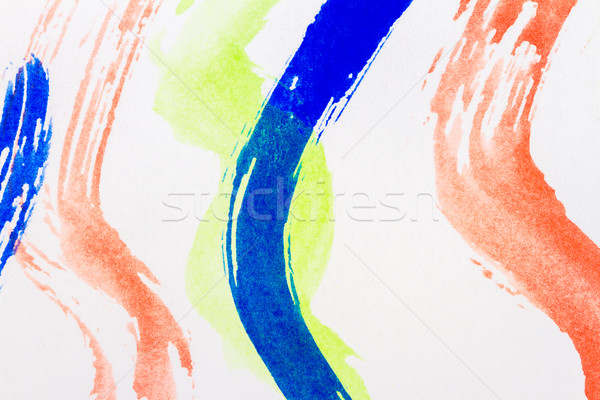 Abstract watercolor art background Stock photo © Taigi
