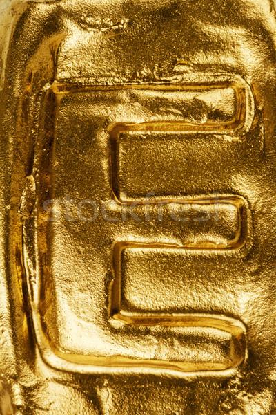 Bella lucido tessitura oro Foto d'archivio © Taigi