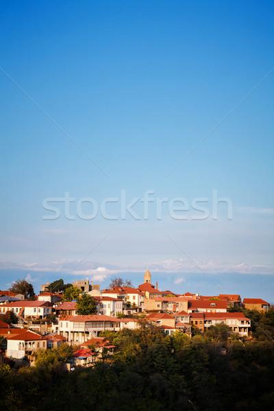 регион Грузия мнение старый город строительство природы Сток-фото © Taigi