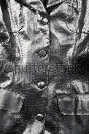 Fragment zwarte mode achtergrond retro Stockfoto © Taigi