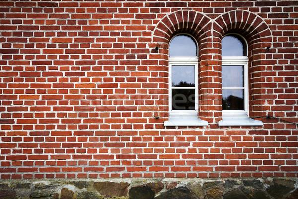 Stock photo: Brick wal