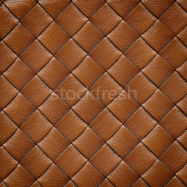 Leather background Stock photo © Taigi