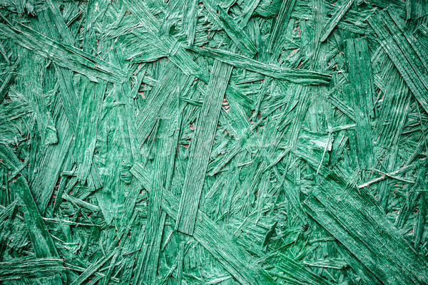 Sklejka malowany zielone shot budowy Zdjęcia stock © Taigi