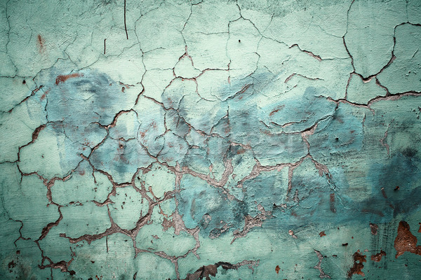 Old cracked wall Stock photo © Taigi