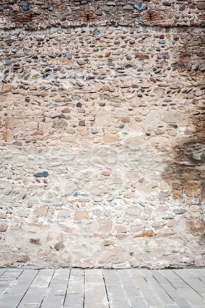 Wall of stones   Stock photo © Taigi