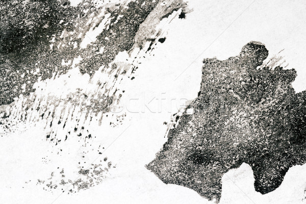 Abstract black watercolor background Stock photo © Taigi