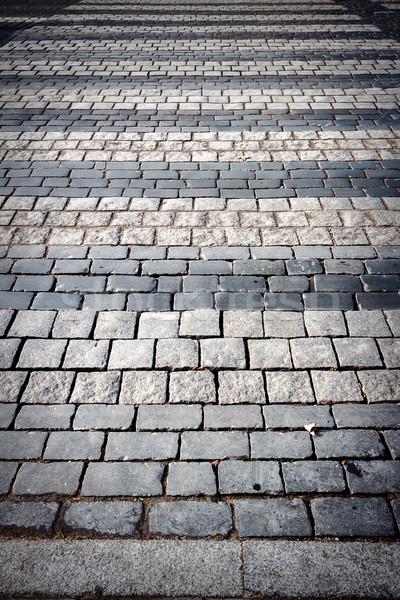Pedestrian crossing on a pavement.  Stock photo © Taigi