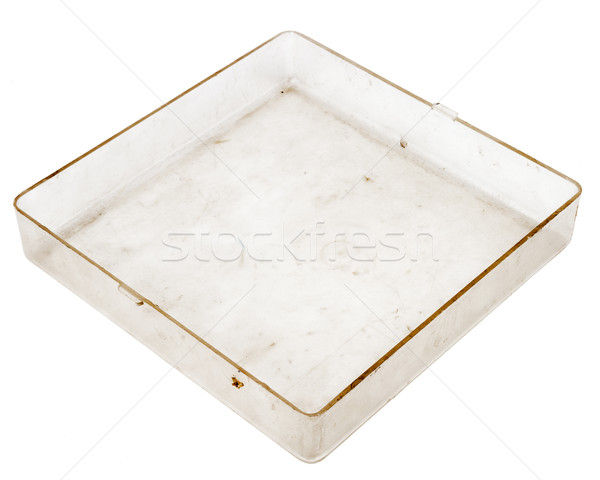 Old plastic box Stock photo © Taigi