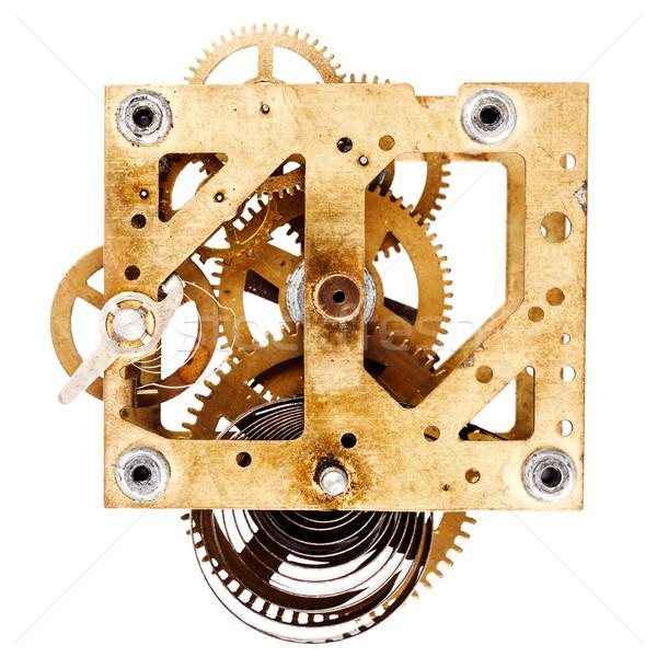 Old grungy clockwork Stock photo © Taigi