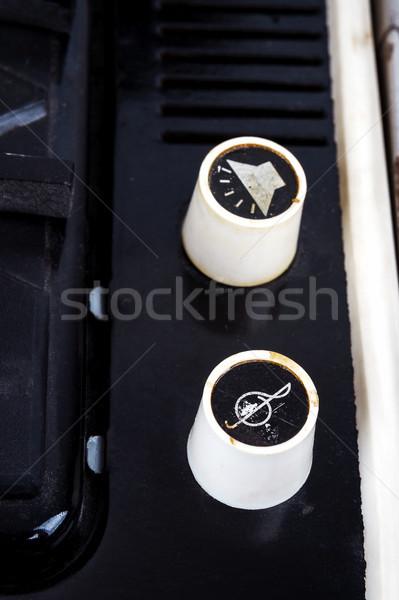 ボリューム ヴィンテージ スーツケース ターン クローズアップ 画像 ストックフォト © Taigi