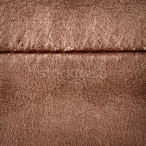 Seam on leather product Stock photo © Taigi