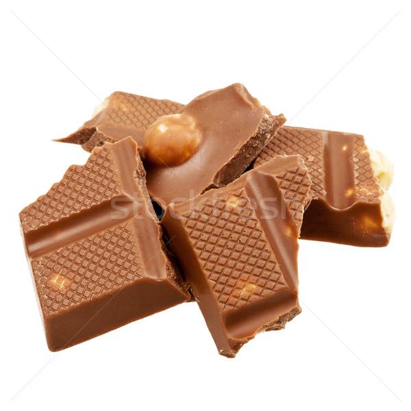 Milk chocolate Stock photo © Taigi