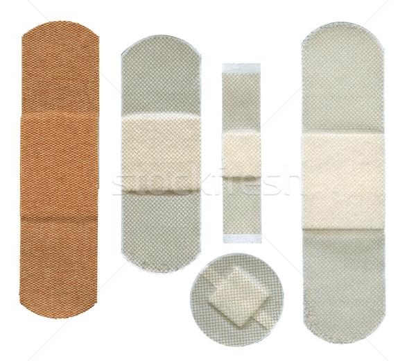 Set of plasters Stock photo © Taigi