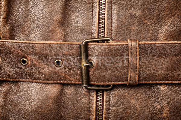 Leather and buckle Stock photo © Taigi
