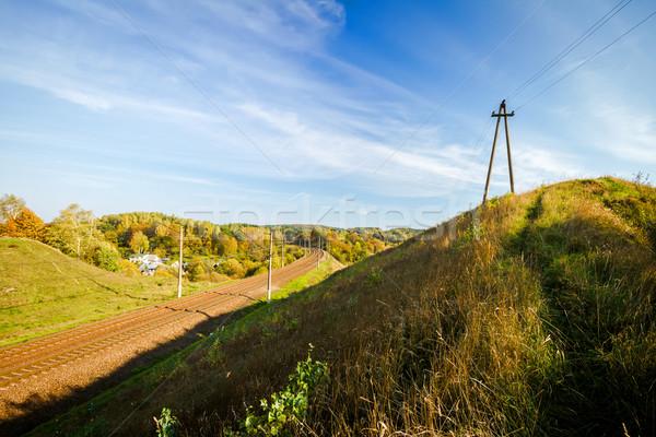 Autumn landscape  Stock photo © Taigi