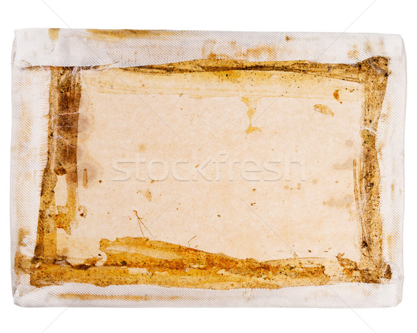 Top view of carton box insert Stock photo © Taigi