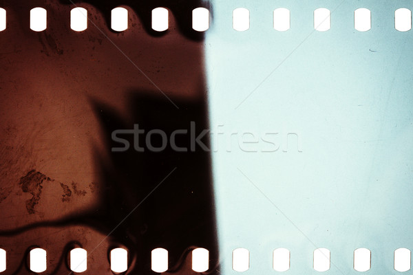 Stock photo: Old grunge filmstrip