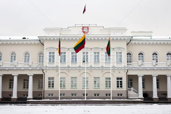 Présidentielle palais Vilnius officielle président Photo stock © Taigi