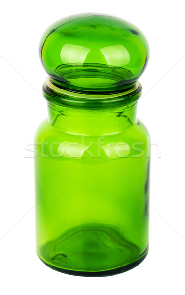 Green glass chemical bottle   Stock photo © Taigi