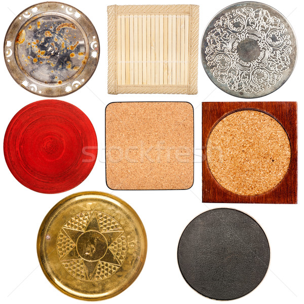 Collection of various table coasters Stock photo © Taigi