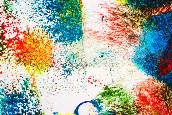 抽象的な アクリル 芸術 マクロ ショット 光 ストックフォト © Taigi