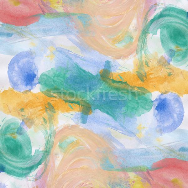 Acrylique arts utilisé papier texture Photo stock © Taigi